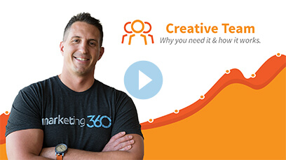 Learn More about Marketing 360® Creative Time