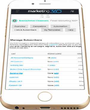 Email Marketing 360® Overview