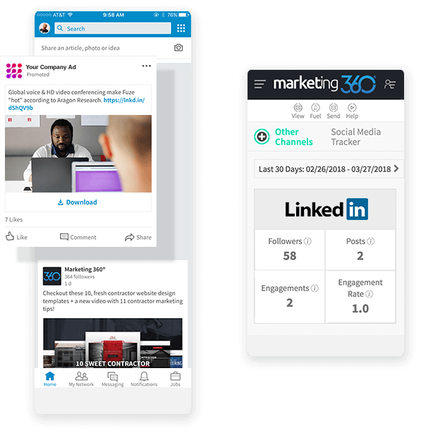 LinkedIn Social Management