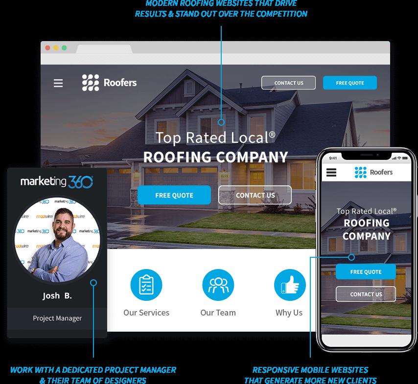roofer marketing websites crm more 1 marketing platform for