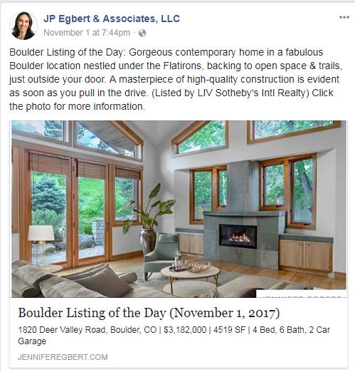 real estate listing facebook