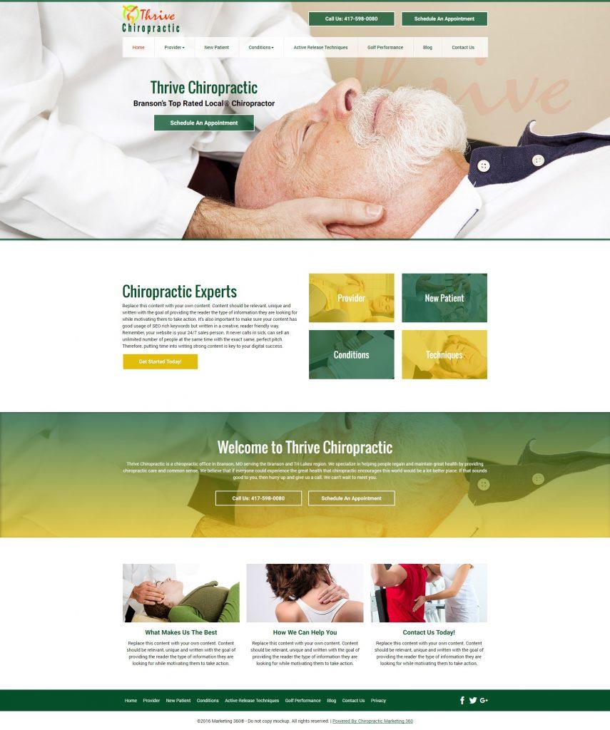 chiropractic design