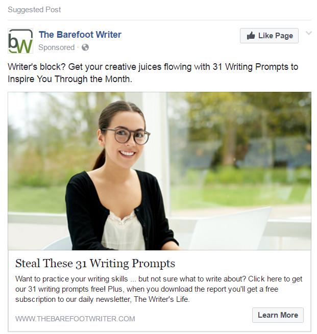 facebook psychographic ad