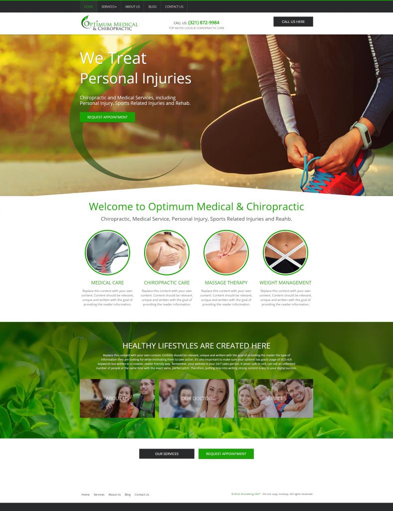 chiropractic theme