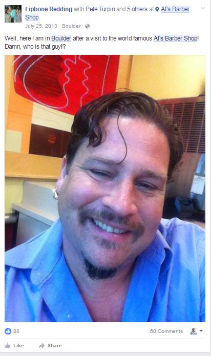 barber facebook post