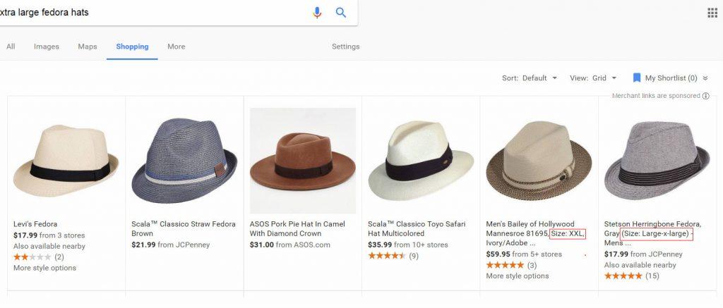 google shopping serps