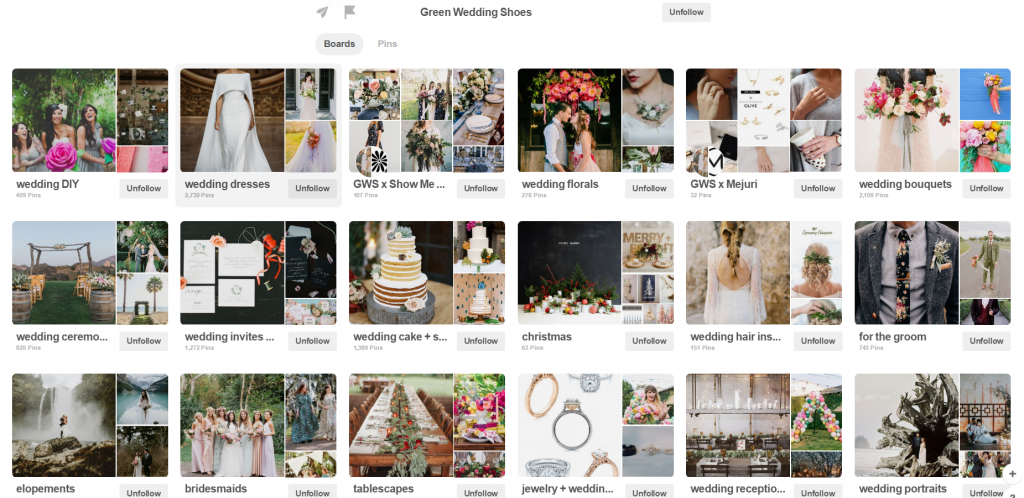 pinterest boards example