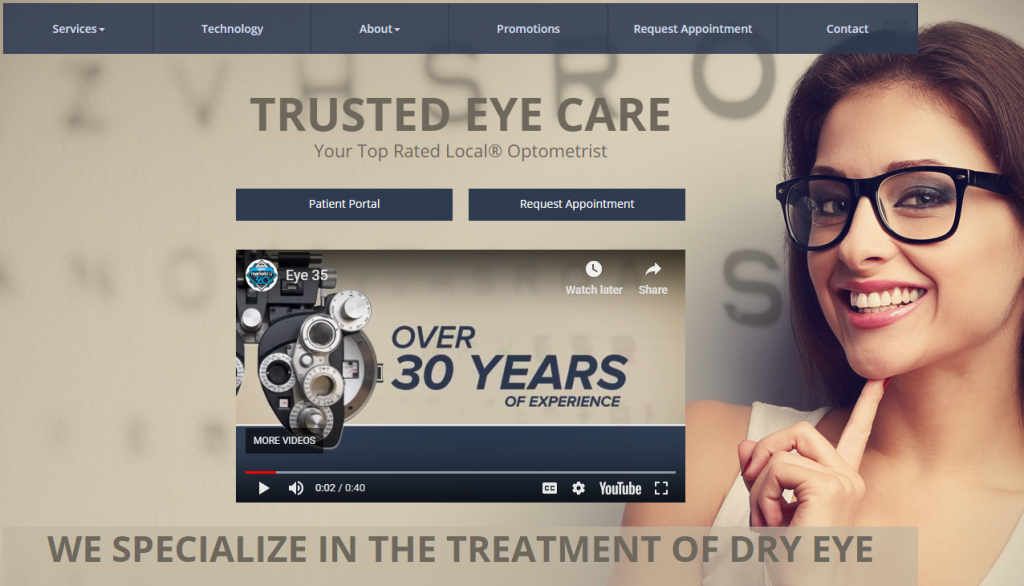eye doctor marketing value proposition