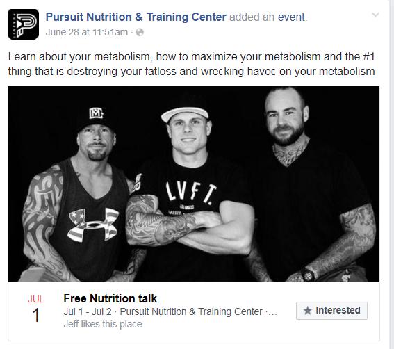 branding facebook