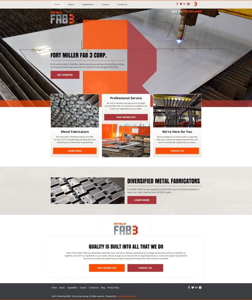 contractor design template