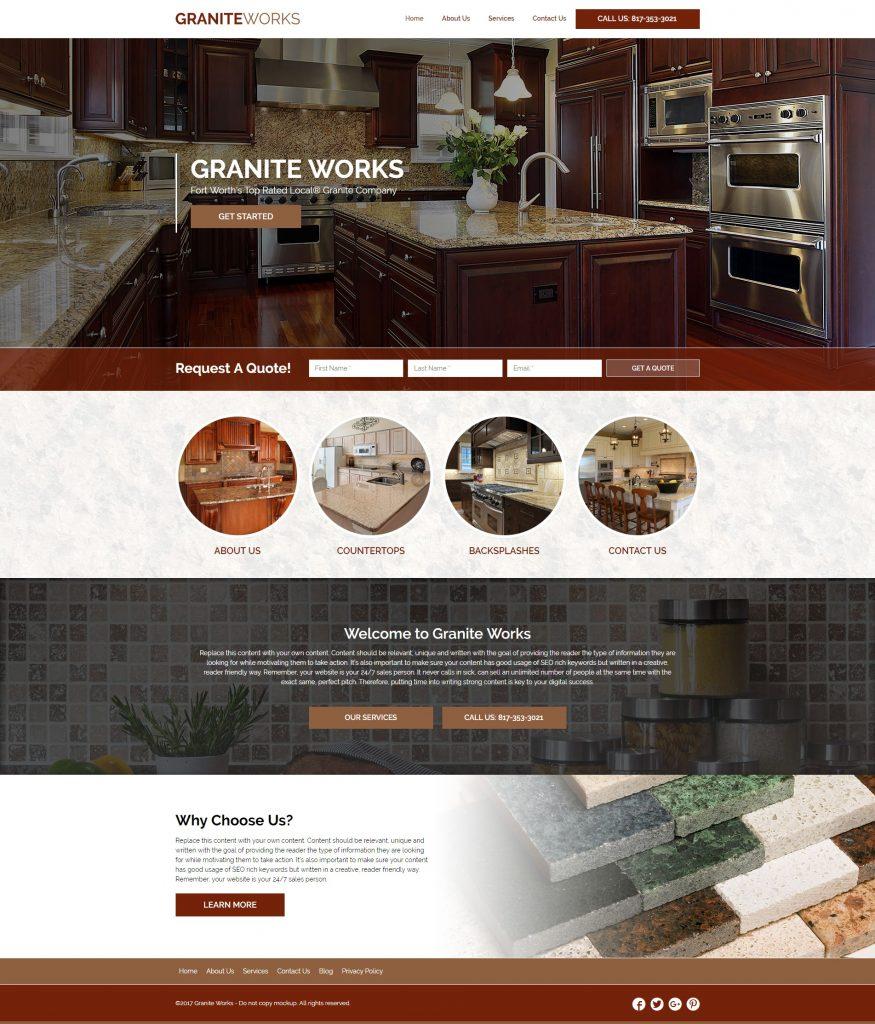 website design for contractors