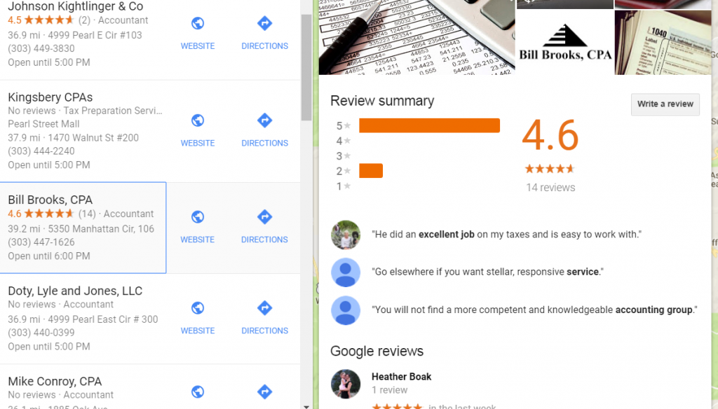 accountant online reviews