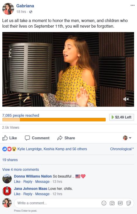 facebook post date