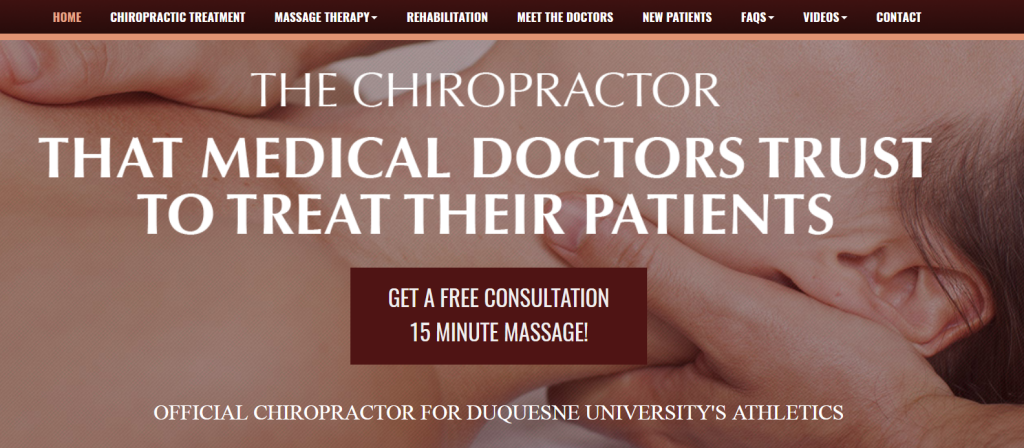 chiropractic case study