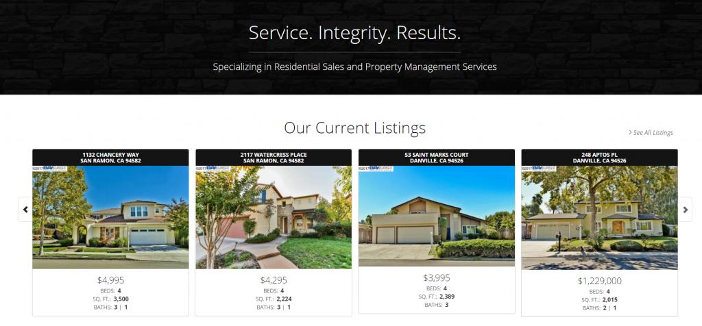 real estate case study