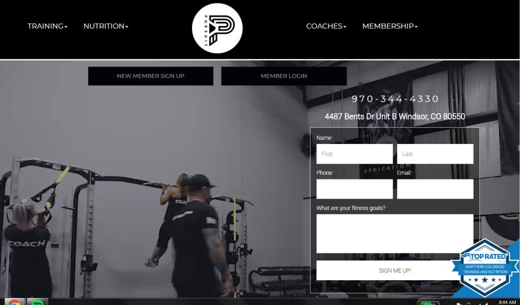 location keyword homepage