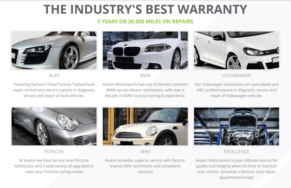 auto repair marketing case study homepage