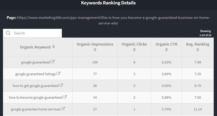 new keyword targets
