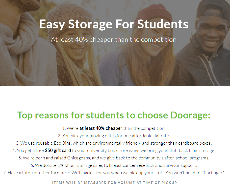 storage center marketing case study