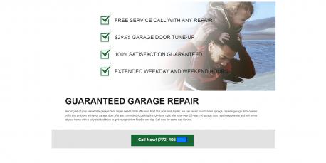 garage door case study value proposition