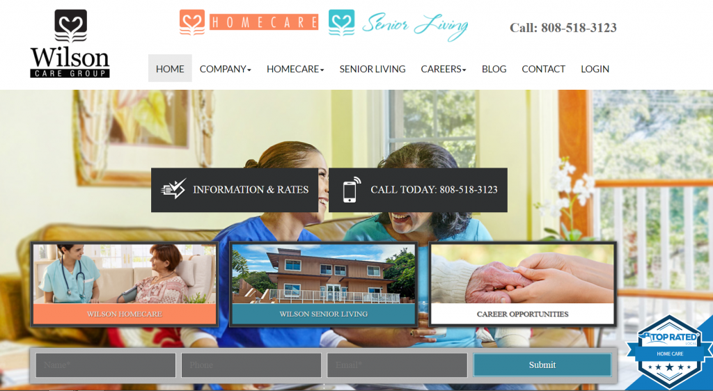 assisted living website new