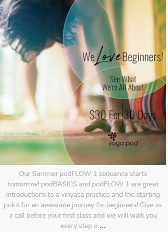 yoga case study instagram post