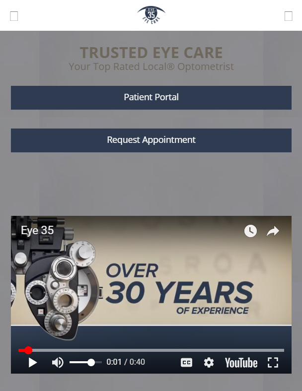 optometry case study mobile design