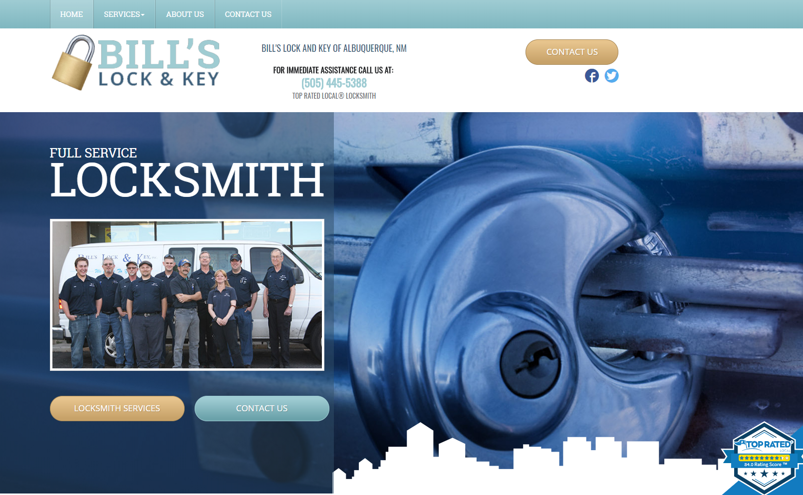locksmith website design