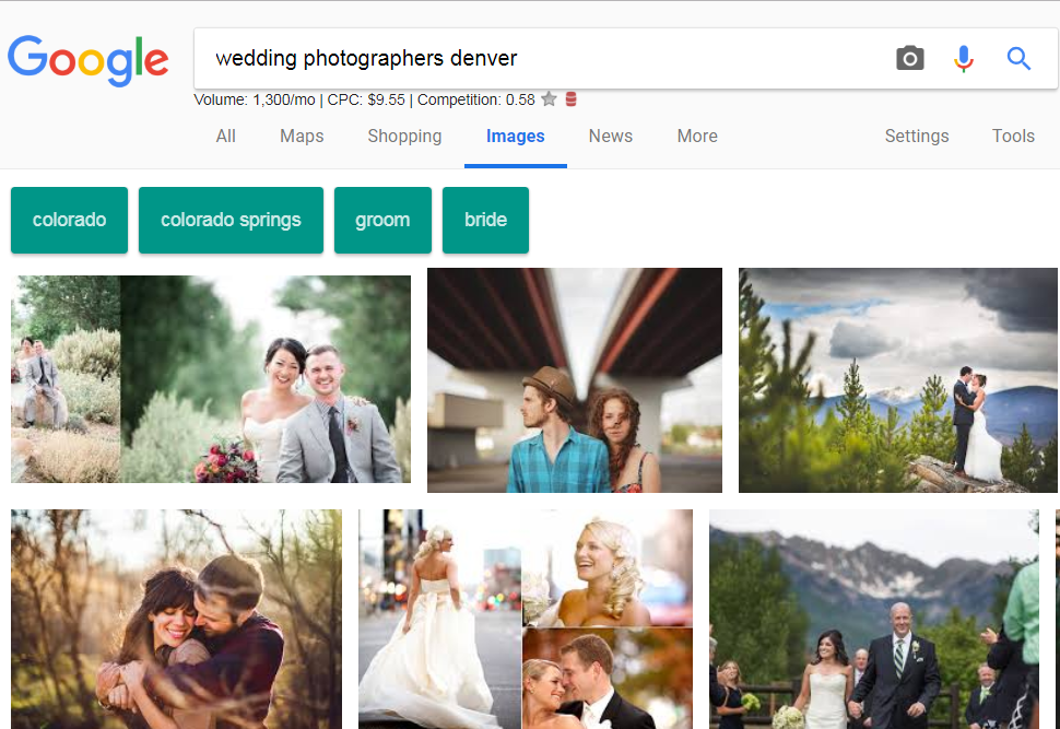 photography marketing images search results