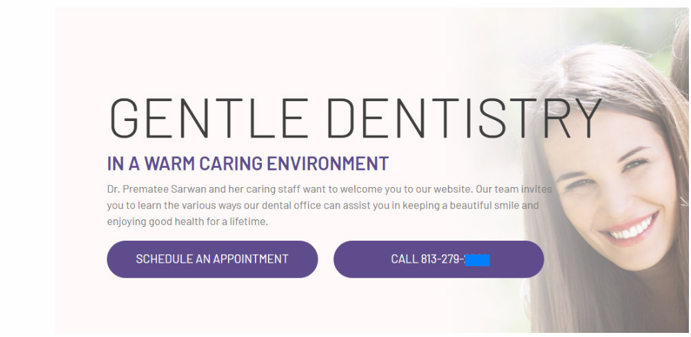 dental marketing case study website design