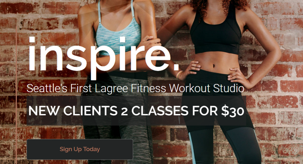 fitness marketing case study website design
