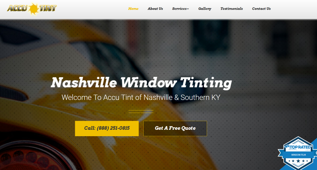 auto glass marketing case study homepage
