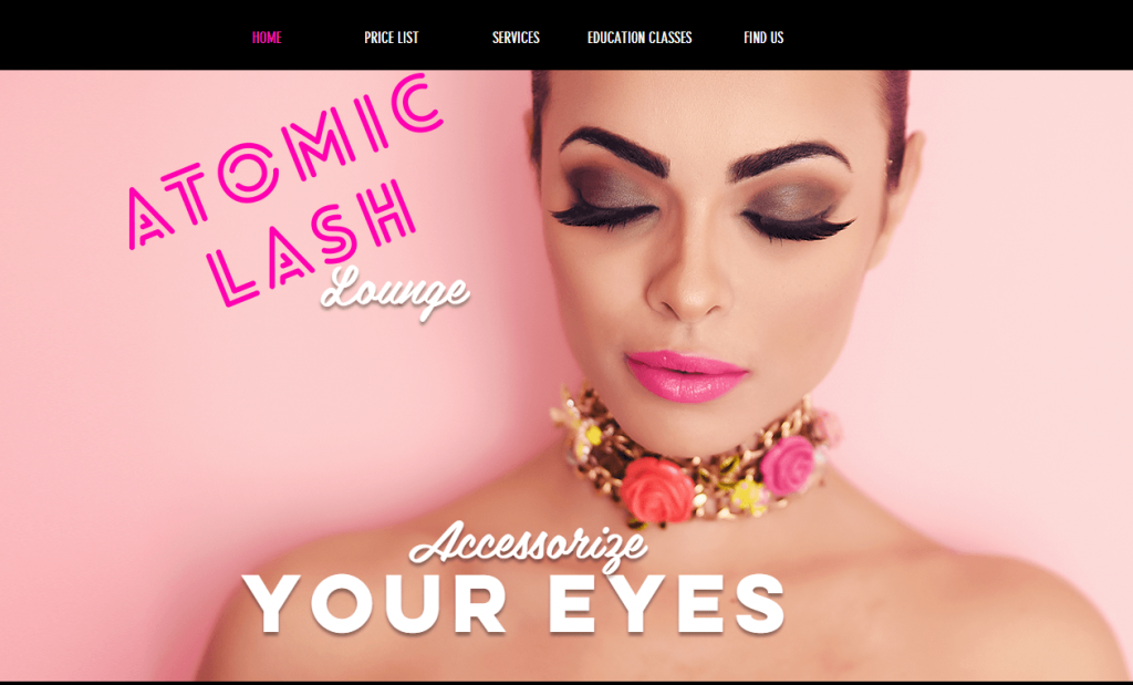 website faces salon