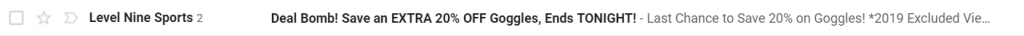email subject line urgency