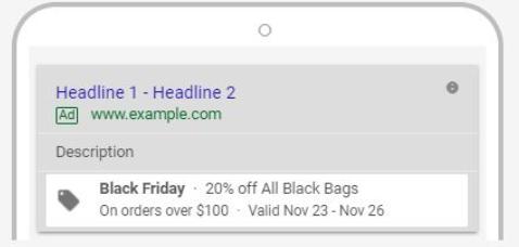 google black friday promotion